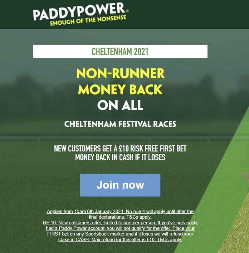 Paddy Power NRNB Cheltenham 2021