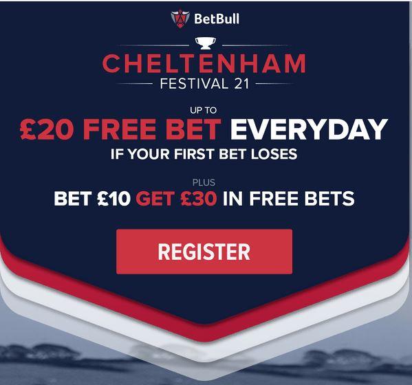 Cheltenham free bet BetBull
