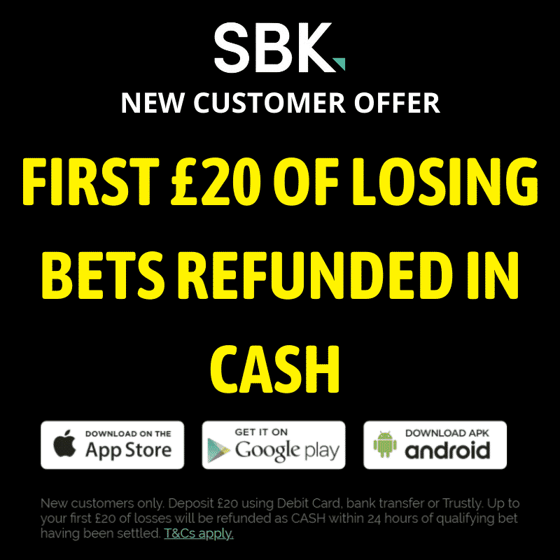 SBK Cheltenham free bet