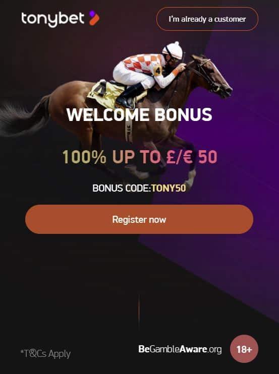 Tonybet free bets