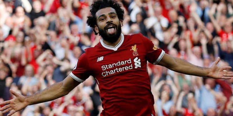 Liverpool's Salah