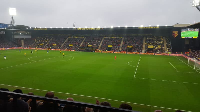 Watford-stadium Premier League Attendances 2018-19 - How full was each stadium?