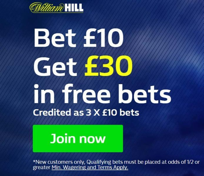 Will Hill free bet
