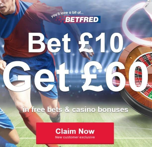 Betfred-bet-10-get-60 Match Result and Both Teams to Score Tips for Saturday 23rd December