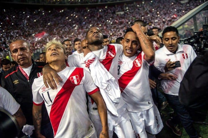 Peru at the 2018 World Cup