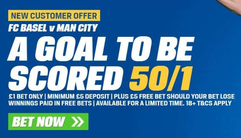 Basel vs Man City betting