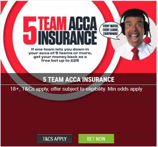 Ladbrokes acca insurance