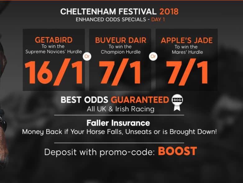 Cheltenham day 1 888Sport