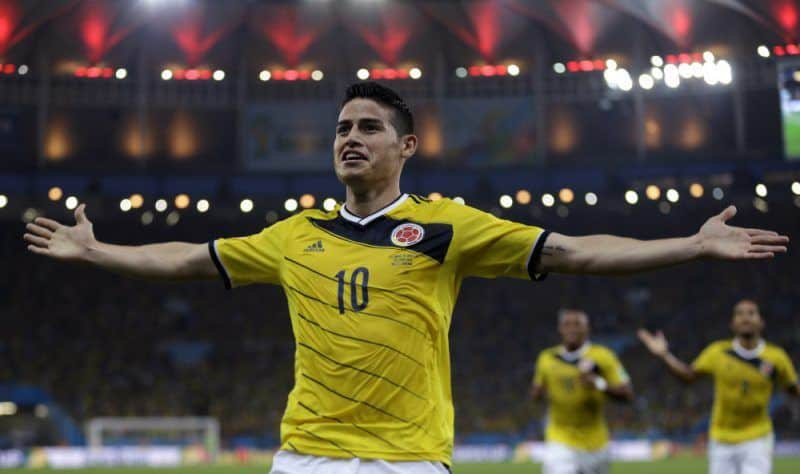 World Cup 2018 Colombia James