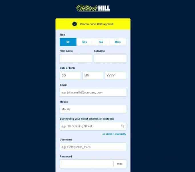 Bet on football tips with William Hill