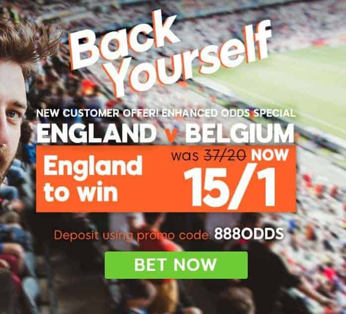 Belgium v England betting tips