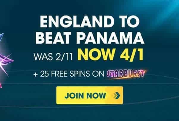 England to beat Panama