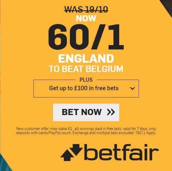 England vs Belgium tips