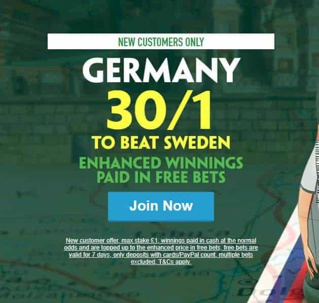 Germany to beat Sweden