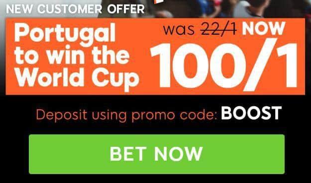 Portugal enhanced odds