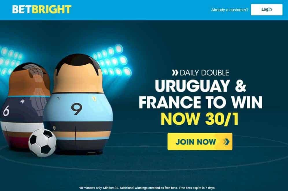 Uruguay and France double