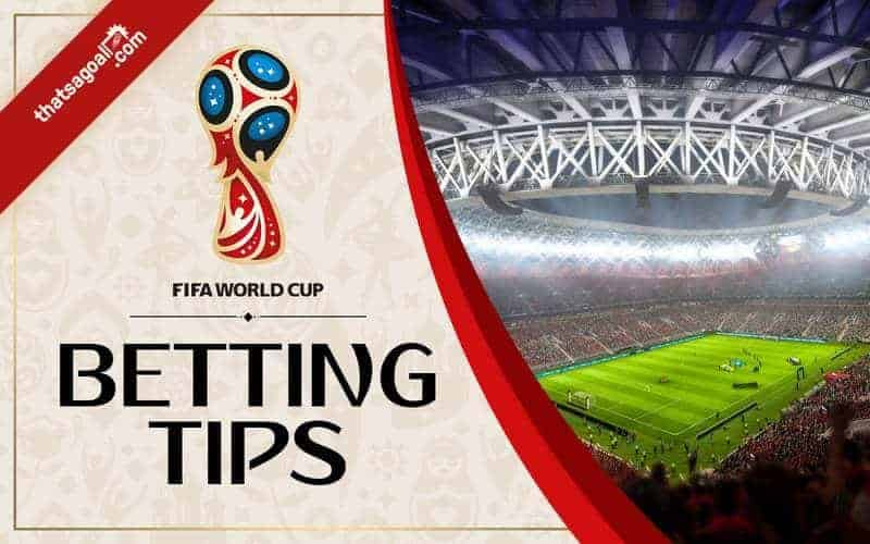 World Cup 2018 betting tips