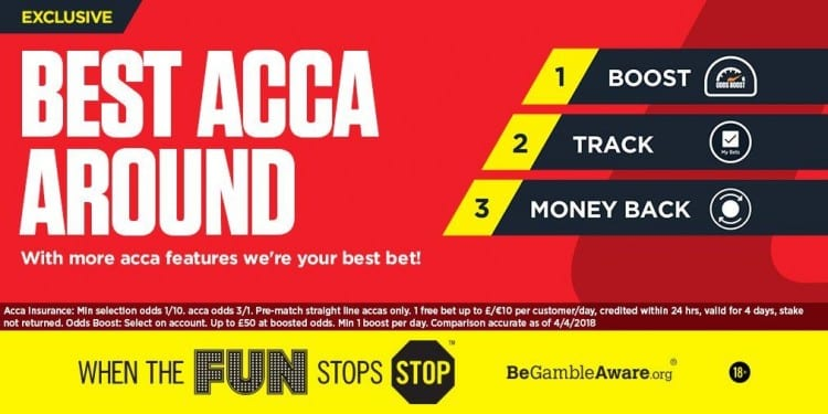 Ladbrokes acca offers