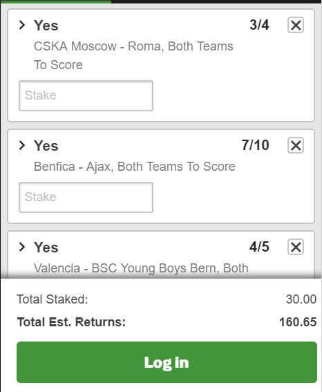Football Tips Today - Champions League Both Teams to Score Tip 07/11