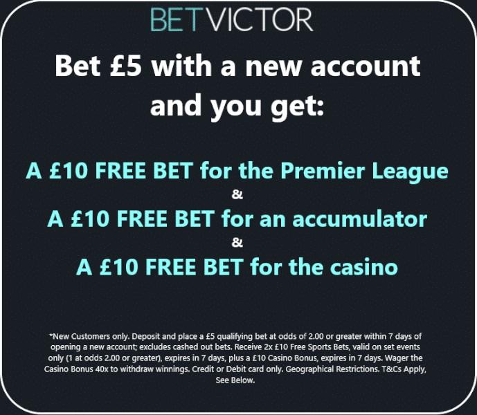 Bet Victor offer