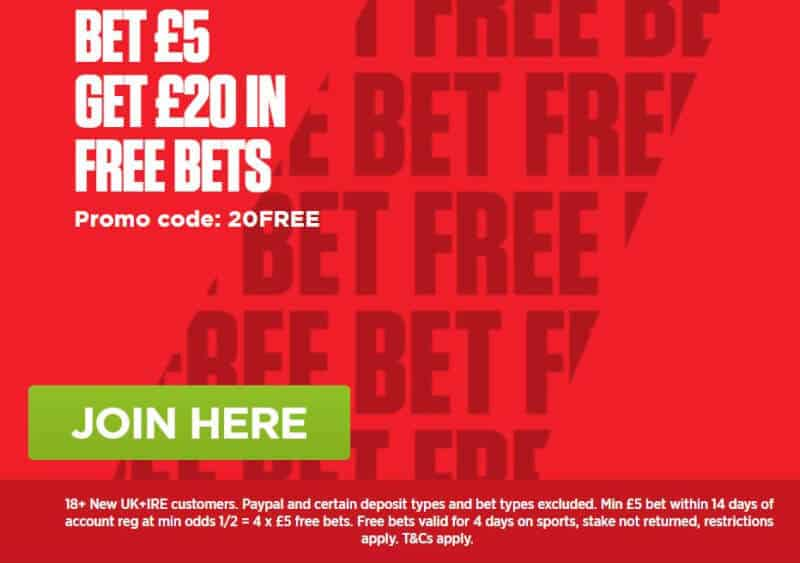 Ladbrokes-5-get-20-new Nations League Betting Tips - The Best 5 Bets to Place this Week