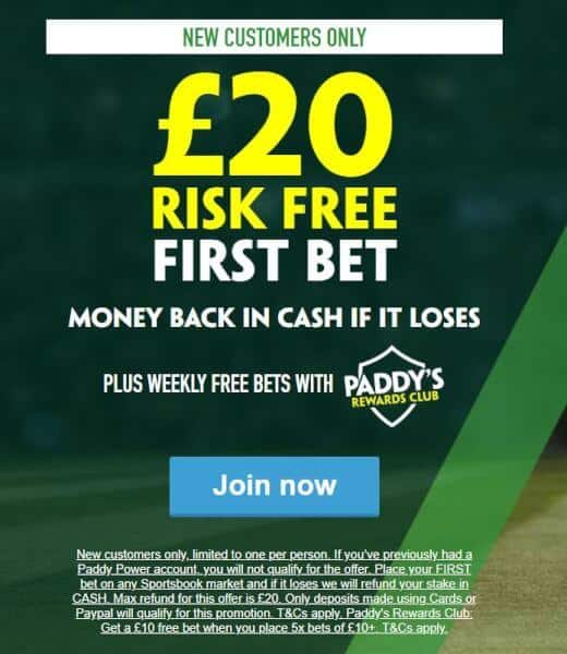 Paddy-Power-new 28/1 Champions League Final Same Game Multi at Paddy Power
