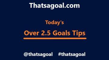 over 2.5 goals tips