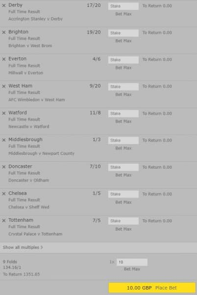 FA-Cup-accumulator-26th-Jan FA Cup Mega Accumulator for this Weekend's Fixtures - £10 wins £1351