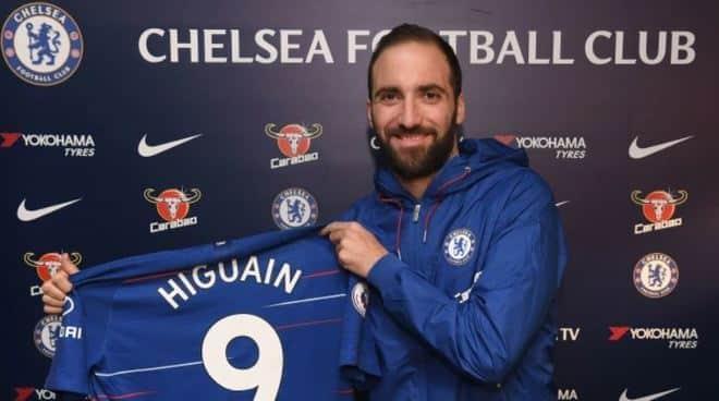 Higuain Chelsea quiz