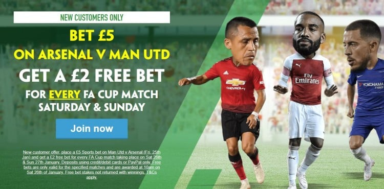 Paddy Power offer FA Cup