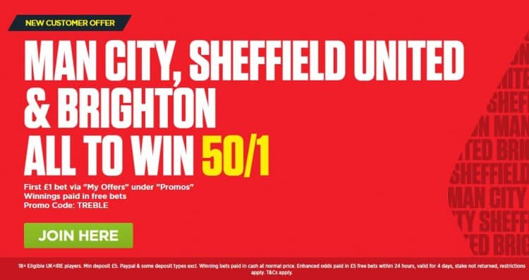 Acca-16th-Feb-Lads 50/1 Accumulator for this Saturday's Football (Boosted from 17/10)