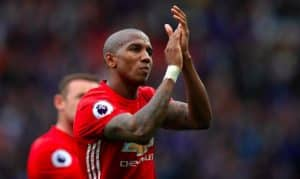 Ashley Young signs a new deal at Manchester United