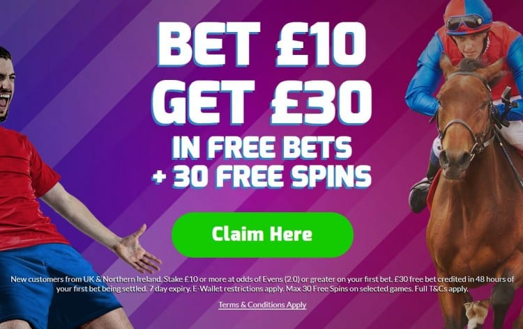 betfred-10-30-new-1 Saturday Afternoon EFL Football Betting Tips - Three Best Bets for 27th April