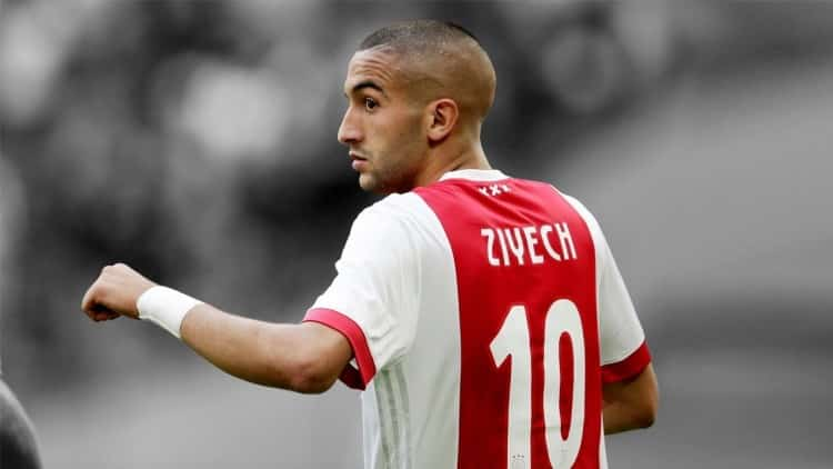 Ajax-Ziyech Champions League Betting Tips for Tonight's Two Matches - 5/1 double