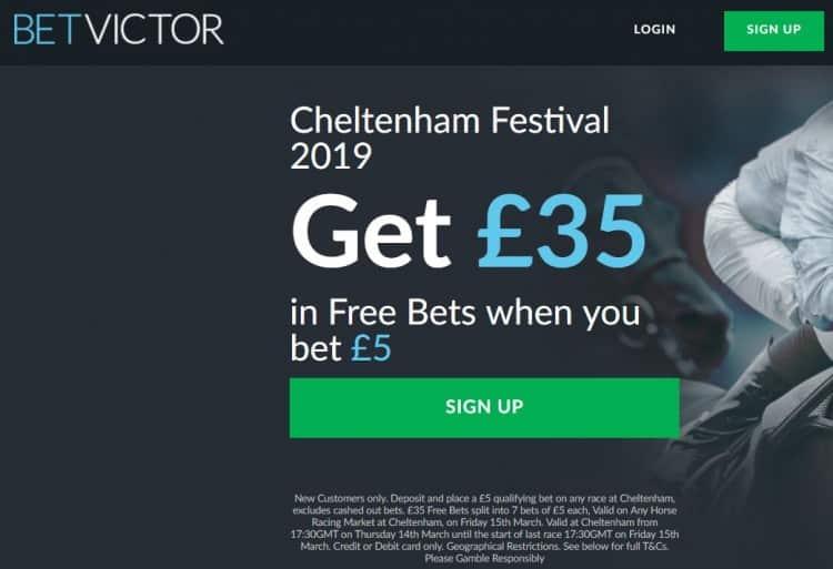 Bet Victor Cheltenham