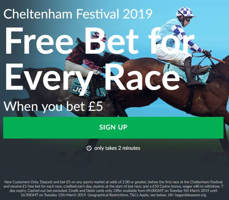 Bet-Victor-Cheltenham-Site Premier League Accumulator - Bet £5 to win £51 and get 28 Cheltenham Free Bets