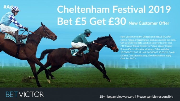 Cheltenham-Bet-Victor-new Cheltenham Festival Day 3 Betting Tips - Thursday 14th March 2019