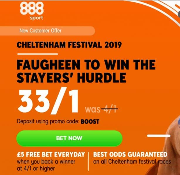 Faugheen-33s Cheltenham Festival Day 3 Betting Tips - Thursday 14th March 2019