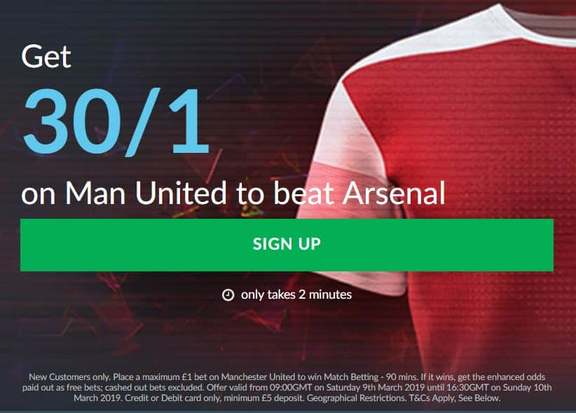 Man-Utd-30s-Arsenal Arsenal vs Manchester United Predictions and Betting Tips: Premier League Preview