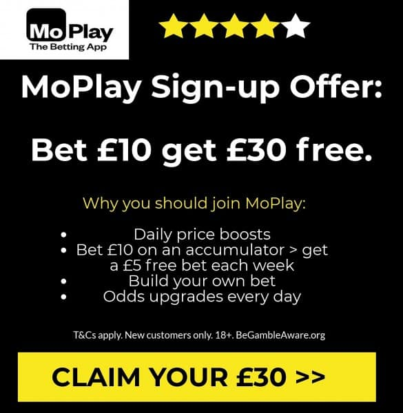 MoPlay free bet offer