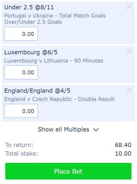 Euro 2020 qualifying tips