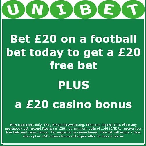 Unibet-offer-2 Derby vs West Brom Predictions and Betting Tips: Preview, Odds and H2H Stats