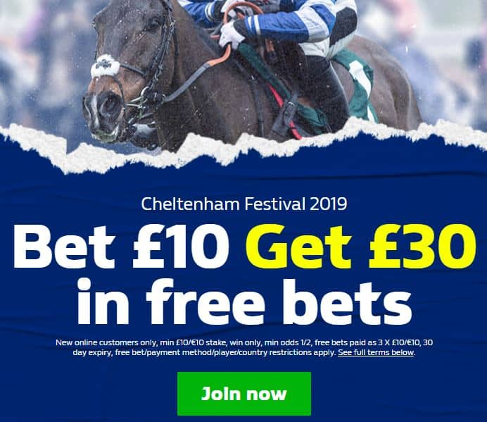 William-Hill-Cheltenham-1 Cheltenham Festival 2019 Betting Tips and Predictions