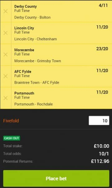 Accumulator-Tips-13th-April Football Accumulator Tips for this Weekend - £10 wins £112 on Saturday
