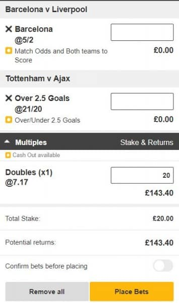 Champions-League-double Three Champions League Bets to Place on the Semi-Final First Legs