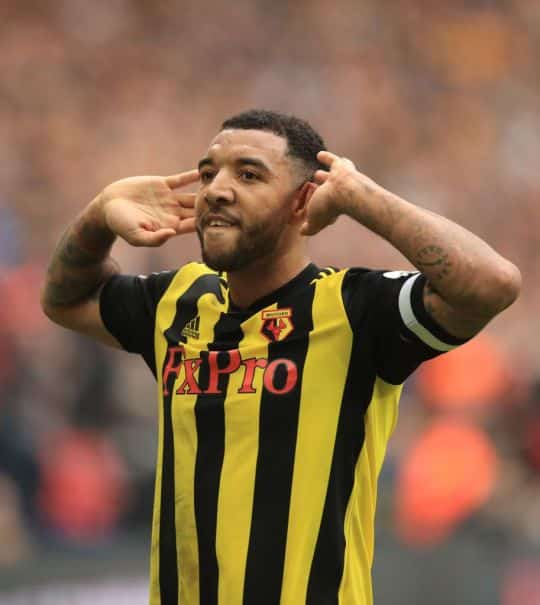 Deeney-celebration Troy Deeney Calls Raul Jimenez a 'Loser' after FA Cup Semi-final Celebration Backfires