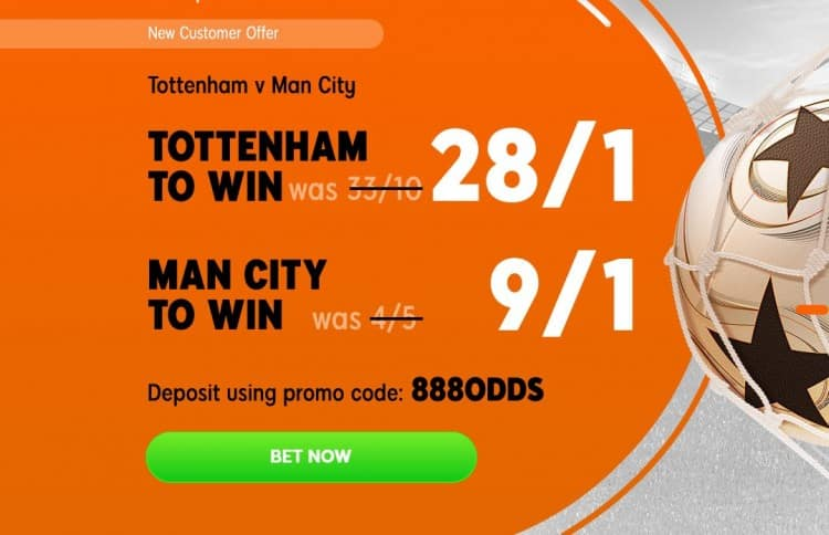 Spurs-City-888 Tottenham vs Manchester City Predicted Line-ups for Tonight