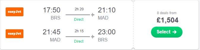Bristol-to-Madrid Flights from the UK to Madrid for the Champions League final already over £1500