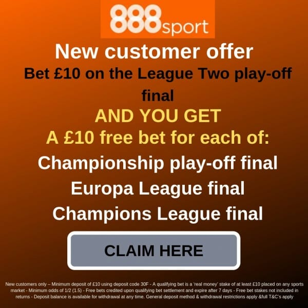 Copy-of-Betfred-Champions-League-final-free-bet Newport County vs Tranmere Prediction, Betting Tips, Odds and Preview: League Two Play-off Final