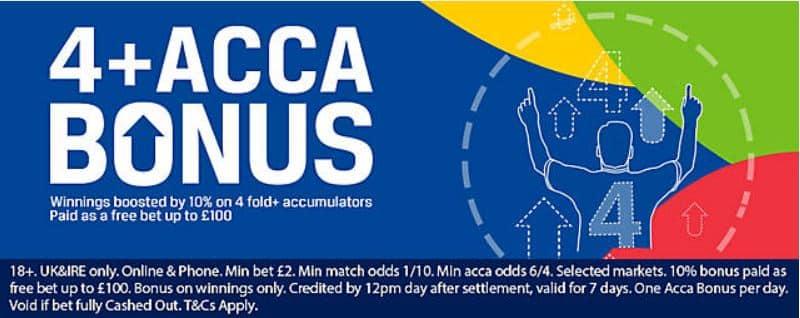 Coral-acca-bonus Handicap Betting Tips & Predictions